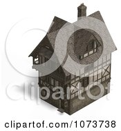 Clipart 3d Large Medieval House 15 Royalty Free CGI Illustration by Ralf61
