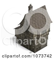 Clipart 3d Large Medieval House 19 Royalty Free CGI Illustration by Ralf61