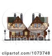 Clipart 3d Medieval Building 1 Royalty Free CGI Illustration by Ralf61