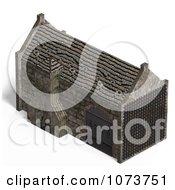 Clipart 3d Medieval Blacksmith Shop Building 7 Royalty Free CGI Illustration by Ralf61