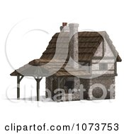 Clipart 3d Medieval Blacksmith Shop Building 2 Royalty Free CGI Illustration by Ralf61