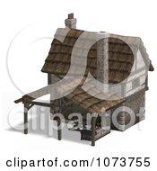 Clipart 3d Medieval Blacksmith Shop Building 4 Royalty Free CGI Illustration by Ralf61
