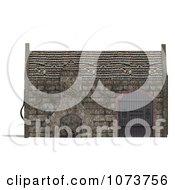 Clipart 3d Medieval Blacksmith Shop Building 5 Royalty Free CGI Illustration by Ralf61