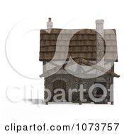 Clipart 3d Medieval Blacksmith Shop Building 1 Royalty Free CGI Illustration by Ralf61