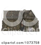 Clipart 3d Medieval Stable Building 4 Royalty Free CGI Illustration by Ralf61