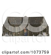 Clipart 3d Medieval Stable Building 1 Royalty Free CGI Illustration by Ralf61
