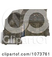 Clipart 3d Medieval Stable Building 3 Royalty Free CGI Illustration by Ralf61