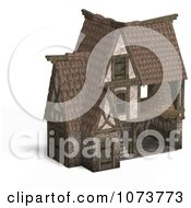 Clipart 3d Medieval Barn Building 4 Royalty Free CGI Illustration by Ralf61