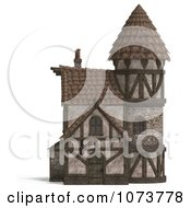 Clipart 3d Medieval Hotel Inn Building 1 Royalty Free CGI Illustration by Ralf61