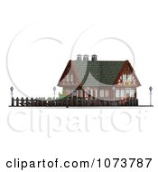 Clipart 3d Medieval Restaurant Building 2 Royalty Free CGI Illustration by Ralf61