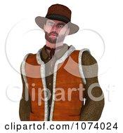 Clipart 3d Cowboy Royalty Free CGI Illustration by Ralf61