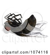 Clipart 3d Dead House Fly 1 Royalty Free CGI Illustration