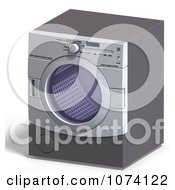 Clipart 3d Front Loader Laundry Washing Machine Or Dryer 1 Royalty Free CGI Illustration