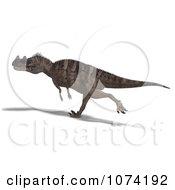 3d Prehistoric Ceratosaurus Dinosaur 7