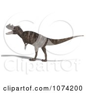 3d Prehistoric Ceratosaurus Dinosaur 3