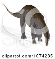 Clipart 3d Prehistoric Apatosaurus Dinosaur 9 Royalty Free CGI Illustration by Ralf61