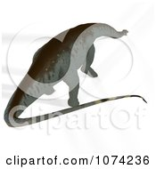Clipart 3d Prehistoric Apatosaurus Dinosaur 10 Royalty Free CGI Illustration by Ralf61