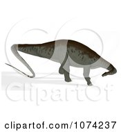 Clipart 3d Prehistoric Apatosaurus Dinosaur 11 Royalty Free CGI Illustration by Ralf61