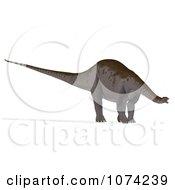 Clipart 3d Prehistoric Apatosaurus Dinosaur 5 Royalty Free CGI Illustration by Ralf61
