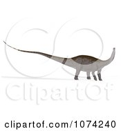 Clipart 3d Prehistoric Apatosaurus Dinosaur 6 Royalty Free CGI Illustration by Ralf61