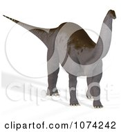 Clipart 3d Prehistoric Apatosaurus Dinosaur 3 Royalty Free CGI Illustration by Ralf61