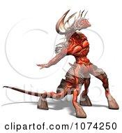 Clipart 3d Fantasy Demon Royalty Free CGI Illustration by Ralf61