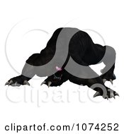 Clipart 3d One Eyed Beast 3 Royalty Free CGI Illustration by Ralf61