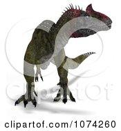 3d Prehistoric Cryolophosaurus Dinosaur 1