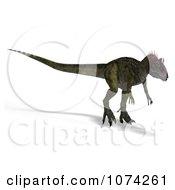 3d Prehistoric Cryolophosaurus Dinosaur 9