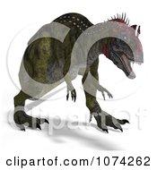3d Prehistoric Cryolophosaurus Dinosaur 3
