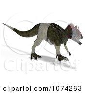 3d Prehistoric Cryolophosaurus Dinosaur 4