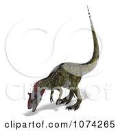 3d Prehistoric Cryolophosaurus Dinosaur 6