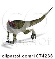 3d Prehistoric Cryolophosaurus Dinosaur 7