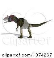 3d Prehistoric Cryolophosaurus Dinosaur 8