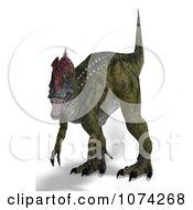 3d Prehistoric Cryolophosaurus Dinosaur 2