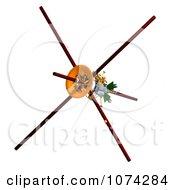 Clipart 3d Cassini Satellite 1 Royalty Free CGI Illustration
