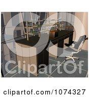 Clipart 3d Science Lab Interior Royalty Free CGI Illustration