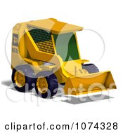 Clipart 3d Yellow Earthmover Royalty Free CGI Illustration by Ralf61