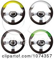 3d Race Car Steering Wheels