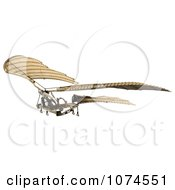 Clipart 3d Ornithopter Da Vinci Flier 2 Royalty Free CGI Illustration by Leo Blanchette