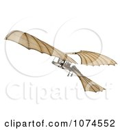 Clipart 3d Ornithopter Da Vinci Flier 3 Royalty Free CGI Illustration