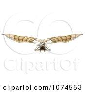 Clipart 3d Ornithopter Da Vinci Flier 4 - Royalty Free CGI Illustration by Leo Blanchette