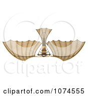 Clipart 3d Ornithopter Da Vinci Flier 6 Royalty Free CGI Illustration