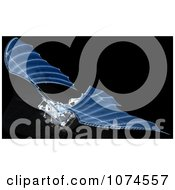 Clipart 3d Ornithopter Da Vinci Flier Blueprints Royalty Free CGI Illustration by Leo Blanchette