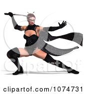 3d Warrior Princess Fighting With A Sword 2