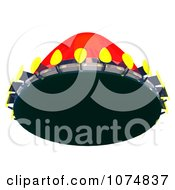 Clipart 3d UFO Flying Saucer Spacecraft 9 Royalty Free CGI Illustration