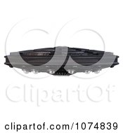 Clipart 3d UFO Flying Saucer Spacecraft 12 Royalty Free CGI Illustration