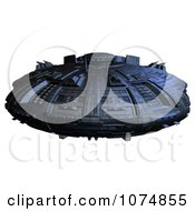 Clipart 3d UFO Flying Saucer Spacecraft 29 Royalty Free CGI Illustration by Ralf61