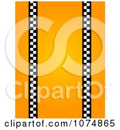 Orange Vertical Taxi Background