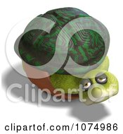 Clipart 3d Sad Tortoise In His Shell Royalty Free CGI Illustration by Ralf61